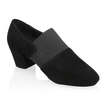 Picture of 419 Luna | Black Nappa Suede Leather/Elastic