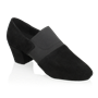 Bild von 419 Luna | Black Nappa Suede Leather/Elastic