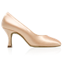 Obrazek 964A Claudia | Light Flesh Satin | Standard Ballroom Pointed Toe Dance Shoes