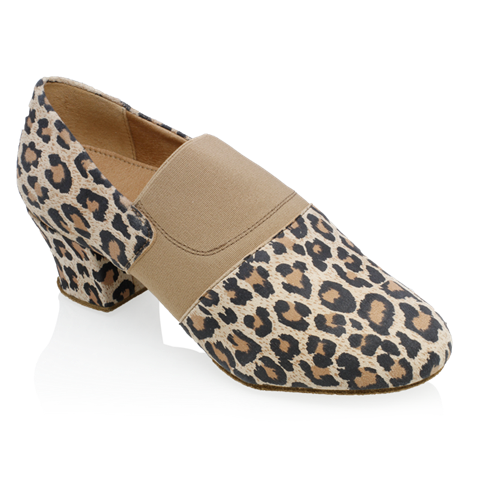 Picture of 419 Luna | Leopard Print Leather/Elastic
