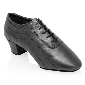 Obrazek H447 Zephyr | Black Leather | Latin Dance Shoes