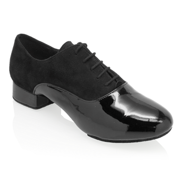 Bild von 333 Rhine | Nappa Suede Leather/Patent | Standard Ballroom Dance Shoes