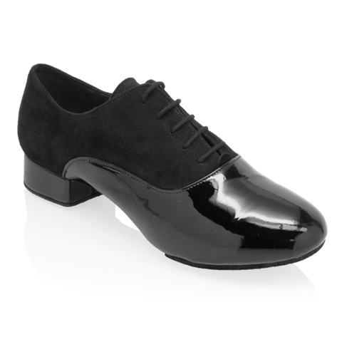 Obrazek 333 Rhine | Nappa Suede Leather/Patent | Standard Ballroom Dance Shoes