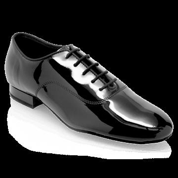 Obrazek 375  Lukasz | Black Patent | Standard Ballroom Dance Shoes